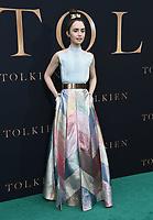 "08 May 2019 - Westwood, California - Lily Collins. ""Tolkien"" Los Angeles Special Screening held at Regency Westwood Village Theater. Photo Credit: Birdie Thompson/AdMedia"