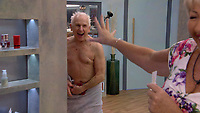 Wayne Sleep, Maggie Oliver<br /> Celebrity Big Brother 2018 - Day 10<br /> *Editorial Use Only*<br /> CAP/KFS<br /> Image supplied by Capital Pictures