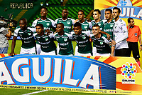 PALMIRA-COLOMBIA-26-01-2019: Jugadores de Deportivo Cali, posan para una foto, durante partido de la fecha 1 entre Deportivo Cali y Atlético Bucaramanga, por la Liga Aguila I 2019, jugado en el estadio Deportivo Cali (Palmaseca) en la ciudad de Palmira. / Players of Deportivo Cali, pose for a photo, during a match of the 1st date between Deportivo Cali and Atletico Bucaramanga, for the Liga Aguila I 2019, at the Deportivo Cali (Palmaseca) stadium in Palmira city. Photo: VizzorImage  / Nelson Ríos / Cont.