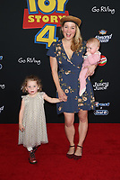 "HOLLYWOOD, CA - JUNE 11: Erika Christensen, family, at The Premiere Of Disney And Pixar's ""Toy Story 4"" at El Capitan theatre in Hollywood, California on June 11, 2019. <br /> CAP/MPIFS<br /> ©MPIFS/Capital Pictures"