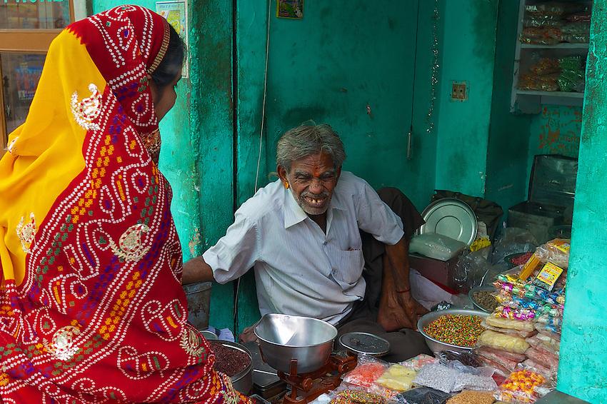 Street vendor Bikaner Rajasthan India