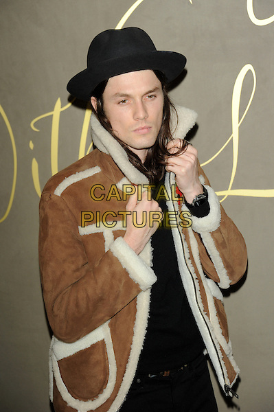 LONDON, ENGLAND - NOVEMBER 3: James Bay attends the Burberry Festive Film Premiere at Burberry Regent Street on November 3, 2015 in London, England.<br /> CAP/CJ<br /> &copy;CJ/Capital Pictures