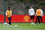Marcus Rashford of Manchester United during the Manchester United training session at the Carrington Training Centre, Manchester. Picture date: May 19th 2017. <br /> Pic credit should read: Matt McNulty/Sportimage