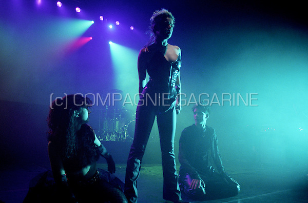 Last concert of the Belgian acid house band Lords Of Acid in the Ancienne Belgique, Brussels (Belgium, 10/12/2002).