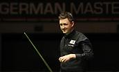 3rd February 2019, Berlin, Germany; Snooker Berlin German Masters in Tempodrom;  Final between Kyren Wilson and  David Gilbert