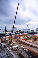 Farmers Corner building site. Bay Of Plenty Regional Council in Tauranga, New Zealand on Wednesday, 21 November 2018. Photo: Dave Lintott / lintottphoto.co.nz