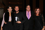 General Hospital Jacklyn Zeman with Ana Villafane & Mauricio Martinez (stars of On Your Feet) & Dale Badway at 30th Anniversary of the Jane Elissa Extravaganza to benefit The Jane Elissa Charitable Fund for Leukemia & Lymphoma Cancer, Broadway Cares & other charities on October 30. 2017 at the New York Marriott Marquis, New York, New York. (Photo by Sue Coflin/Max Photo)