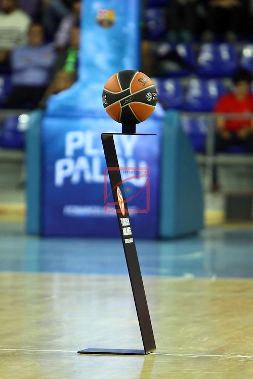 Euroleague Basketball-Regular Season Round 5.<br /> FC Barcelona vs Panathinaikos Athens: 78-69.