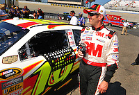 May 30, 2008; Dover, DE, USA; Nascar Sprint Cup Series driver Greg Biffle during qualifying for the Best Buy 400 at the Dover International Speedway. Mandatory Credit: Mark J. Rebilas-US PRESSWIRE