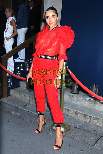 July 10, 2019.Olivia Culpo attend Tag Heuer Celebrates 50 Years of Monaco Timepiece in New York July 10, 2019  <br /> CAP/MPI/RW<br /> ©RW/MPI/Capital Pictures