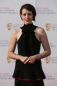 London, UK. 8 May 2016. Claire Foy. Red carpet  celebrity arrivals for the House Of Fraser British Academy Television Awards at the Royal Festival Hall.