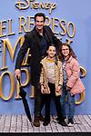 Rodrigo Poison attends to Mary Poppins Returns film premiere at Kinepolis in Pozuelo de Alarcon, Spain. December 11, 2018. (ALTERPHOTOS/A. Perez Meca)