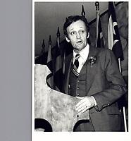 File Photo  - Jean Chretien - March 3, 1979<br /> <br /> PHOTO  :  John Raudsepp<br />  - Agence Quebec Presse