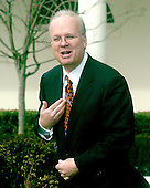Washington, D.C. - February 14, 2006 -- White House advisor Karl Rove shows off his Texas Longhorn tie following the South Lawn ceremony where United States President George W. Bush welcomed the 2005 National Collegiate Athletic Association (NCAA) Division 1A National Champion Texas Longhorns to the White House in Washington, D.C. on February 14, 2006..Credit: Ron Sachs / CNP