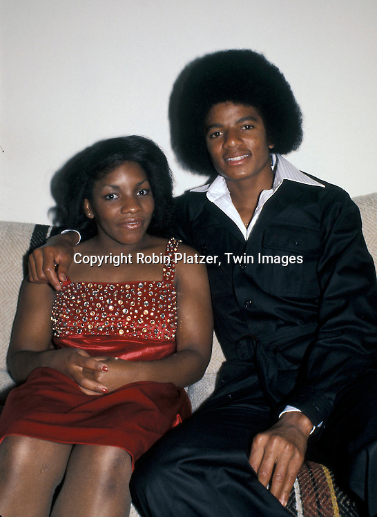 Michael Jackson and Stephanie Mills in the 1970's