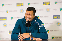 Rotterdam, The Netherlands, 14 Februari 2019, ABNAMRO World Tennis Tournament, Ahoy, Jo-Wilfried Tsonga (FRA),<br />