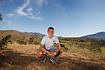 18.06.18  Greg Docherty at the Spanish training camp