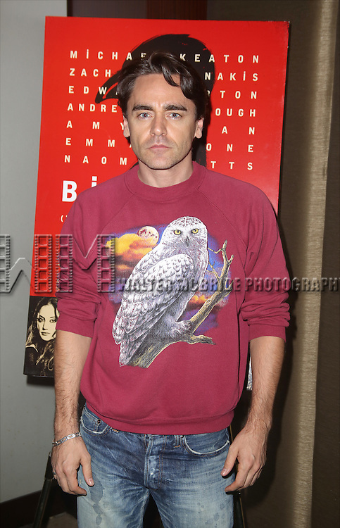 Ryan Mollo attends the Broadway Industry Screening of 'Birdman' at Dolby 88 on October 13, 2014 in New York City.