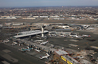 international John F. Kennedy airport during operations in New York, United States. 21/02/2012. Photo by Kena Betancur / VIEWpress.