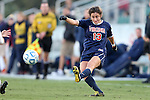 02 November 2012: Virginia's Molly Menchel. The Florida State University Seminoles played the University of Virginia Cavaliers at WakeMed Stadium in Cary, North Carolina in a 2012 NCAA Division I Women's Soccer and Atlantic Coast Conference Tournament semifinal game. Virginia won the game 4-2.