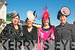 Ladies Day Listowel Races : Pictured at Ladies Day in Listowel ofn Friday last were sisters Antoinett O'Mahony, Ardfert, Marie McGrath, Betty McGrath Moriarity, Listowel & Bernadette O'Callaghan, Blenerville.