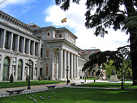 The Prado Museum and Art Gallery, Madrid, Spain. Ref: 200504200556.<br />