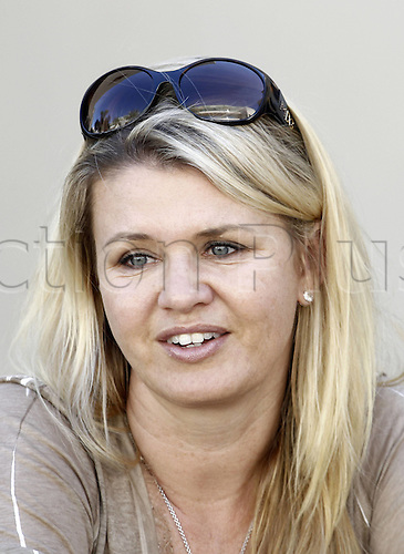 11.11.2011 Abu Dhabi, United Arab Emirates.  Grand Prix of Abu Dhabi Corinna Schumacher wife of 03 Michael Schumacher ger, during the practice session at the FIA Abu Dhabi Grand Prix in the UAE.