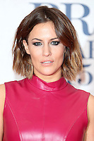 Caroline Flack arriving at The Brit Awards 2015 (Brits) held at the O2 - Arrivals, London. 25/02/2015 Picture by: James Smith / Featureflash