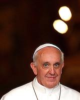 20130504 VATICANO: PAPA FRANCESCO RECITA IL ROSARIO A S. MARIA MAGGIORE