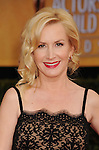 LOS ANGELES, CA - JANUARY 27: Angela Kinsey arrives at the19th Annual Screen Actors Guild Awards held at The Shrine Auditorium on January 27, 2013 in Los Angeles, California.