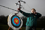 Pix: Shaun Flannery/sf-pictures.com....COPYRIGHT PICTURE>>SHAUN FLANNERY>01302-570814>>07778315553>>..11th January 2008..............Danum Archers at their Castle Park HQ, Doncaster...George Charlesworth.