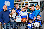 Launching Castleisland Desmonds race night which will be held in the River Island Hotel on Saturday 21st November were l-r: jimmy O'Connell,Marina Dalmau, Tommy o'Connor, David and Damian Dillon, Denis, Alex and Denny Kerins and Zara O'connor