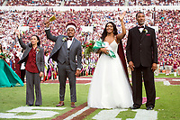Psychology major Anthony C. Daniels of Brookhaven and human development and family science major Victoria V. Vivians of Forest reigned this past week as 2017 Homecoming King and Homecoming Queen at Mississippi State University. Daniels and Vivians, along with other members of the Homecoming Court, were formally presented at halftime of Saturday's home football game at Davis Wade Stadium, where the Bulldogs defeated the University of Kentucky Wildcats 45-7. Daniels was escorted by his mother Susan Daniels, while Vivians was escorted by her father John Vivians.<br />