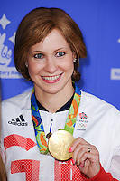 Joanna Rowsell Shand<br /> celebrating the winners in this year's National Lottery Awards, the search for the UK's favourite Lottery-funded projects.  The glittering National Lottery Stars show, hosted by John Barrowman, is on BBC One at 10.45pm on Monday 12 September.<br /> <br /> <br /> ©Ash Knotek  D3151  09/09/2016