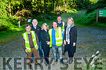 NEKD workers keeping the Glanageenty Woods and walk clean John Linehan,John Houlihan and Pat O'Connell,John Lyons (Joint Treasurer), Pam Dillane and Joanne O'Sullivan (NEKD Supervisers).