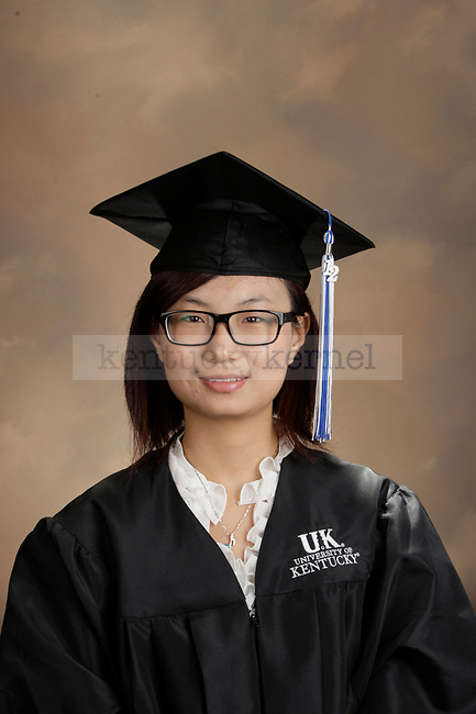 Li, Bing photographed during the October, 2012, Grad Salute in Lexington, Ky.
