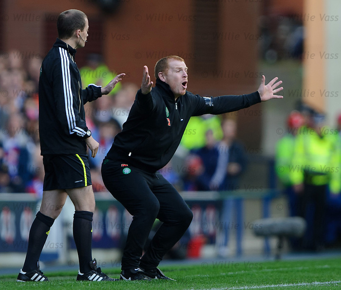Neil Lennon and Willie Collum