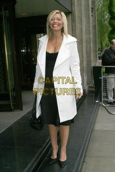 KATE THORNTON.Sony Radio Academy Awards.full length, full-length, white jacket, coat.www.capitalpictures.com.sales@capitalpictures.com.© Capital Pictures.