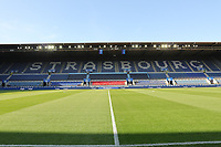 Innenraum des Stade de Meinau - 22.08.2019: Racing Straßburg vs. Eintracht Frankfurt, UEFA Europa League, Qualifikation, Commerzbank Arena<br /> DISCLAIMER: DFL regulations prohibit any use of photographs as image sequences and/or quasi-video.