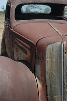Photo of Rusted Old Car