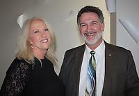 NWA Democrat-Gazette/CARIN SCHOPPMEYER Karen Mallard and Lou Suski enjoy the BOST benefit.