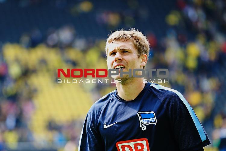 09.05.2015, Signal Iduna Park, Dortmund, GER, im Bild Thomas Kraft ( Hertha BSC Berlin #1)<br /> <br /> Foto &copy; nordphoto / Rauch
