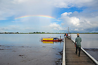 Leonsberg Pier Suriname River