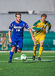 18 September 2013: Hofstra University Pride Midfielder/Forward Elliott Firth, a Junior from Sheffield, England, in action against the University of Vermont Catamounts at Virtue Field in Burlington, Vermont. The Catamounts defeated the visiting Pride 2-1. Mandatory Credit: Ed Wolfstein Photo *** RAW (NEF) Image File Available ***
