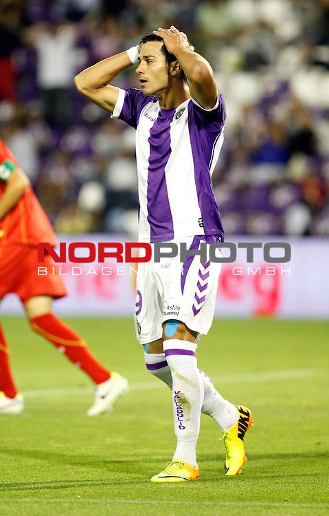 Real Valladolid¬¥s Javi Guerra during La Liga match.August 31,2013. Foto © nph / Victor Blanco)