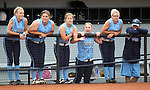 Centennial players cheer for their team against Reed High School during the NIAA 4A softball championship tournament in Reno, Nev. on Thursday, May 16, 2012. Reed won 5-4. .Photo by Cathleen Allison