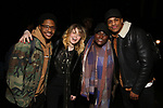 "Ephraim Sykes, Natasha Lyonne, Danielle Brooks and Jeremy Pope backstage after a performance of ""Ain't Too Proud"" at the Imperial Theatre on April 11, 2019 in New York City."