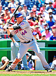 4 July 2010: New York Mets outfielder Jason Bay in action against the Washington Nationals at Nationals Park in Washington, DC. The Mets defeated the Nationals 9-5, splitting their 4-game series. Mandatory Credit: Ed Wolfstein Photo