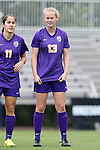 14 September 2014: LSU's Megan Lee (NZL). The Duke University Blue Devils hosted the Louisiana State University Tigers at Koskinen Stadium in Durham, North Carolina in a 2014 NCAA Division I Women's Soccer match. Duke won the game 1-0.