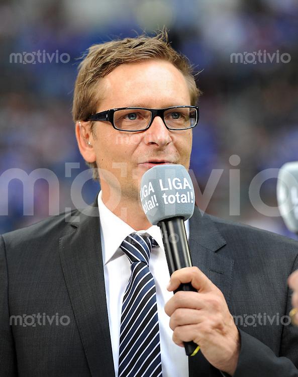 FUSSBALL   LIGA TOTAL CUP 2010   FINALE FC Schalke 04  - FC Bayern Muenchen    01.08.2010 Horst Heldt (Schalke)